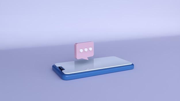 Social-media-benachrichtigungen über das telefon