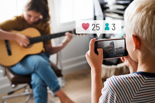 Social-media-benachrichtigungen