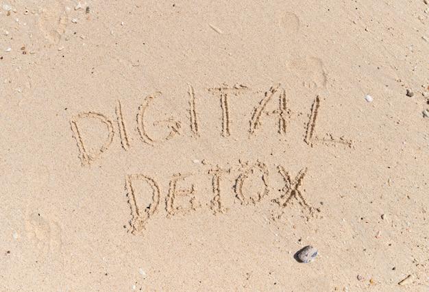 Social media gadget internet detox sucht konzept