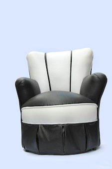 Sofa auf einem weißen hintergrund, das sofa der kinder