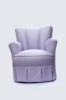 Sofa auf einem weißen hintergrund