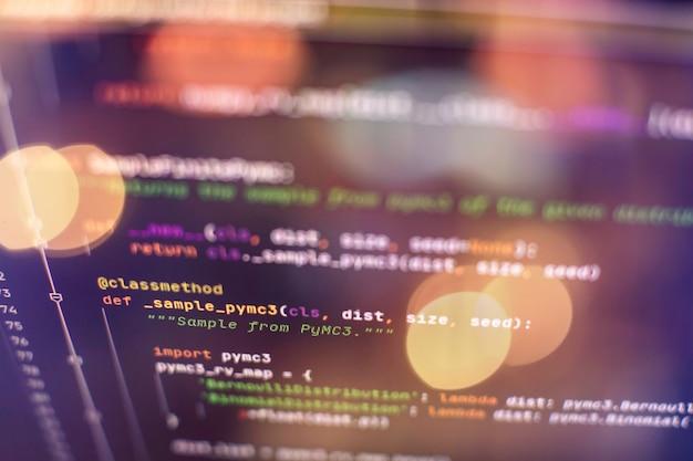 Software-entwicklung. hackerprävention für internetsicherheit. seo-optimierung. moderne technik.
