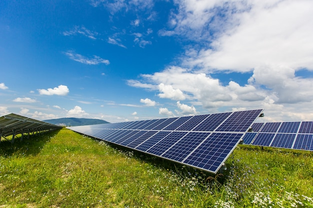Solarpanel alternative energie photovoltaik