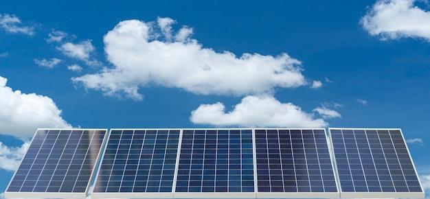 Solarpanel erneuerbare energie
