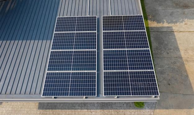 Solarzellen auf dem dach sparen strom