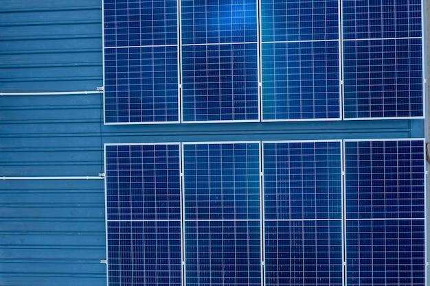 Solarzellen auf dem dach, strom sparen