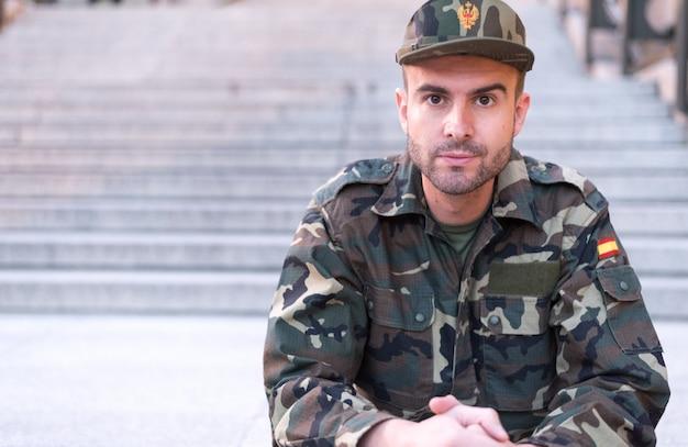 Soldat hautnah