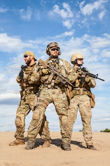 Soldaten der us army special forces group