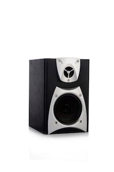 Solider audiosprecher lokalisiert auf weißem hintergrund