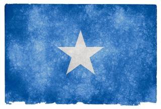 Somalia grunge flag dreck