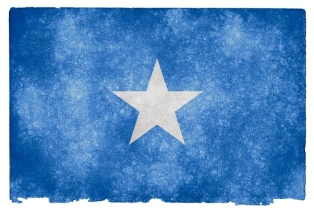 Somalia grunge-flagge
