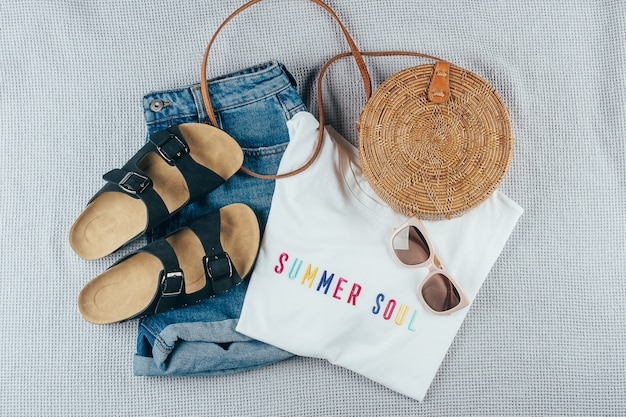 Sommer damenbekleidung und accessoires