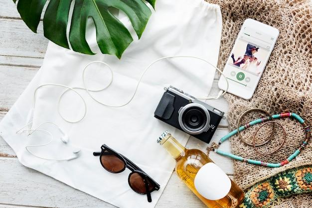 Sommer-frühlingsferien urlaub ferien freizeit konzept