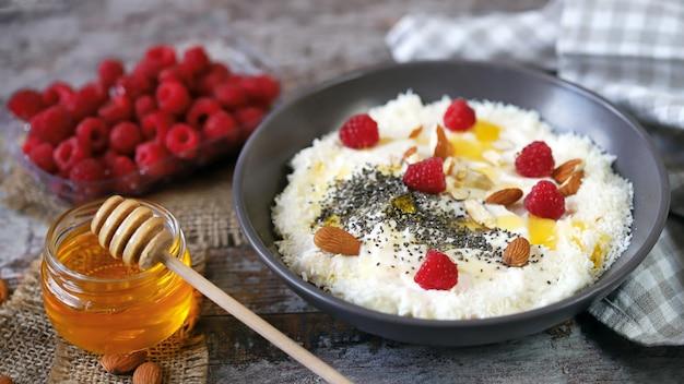 Sommer keto frühstück oder dessert.