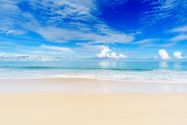Sommer strand meer.