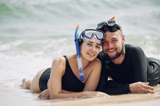 Sommerferien am strand