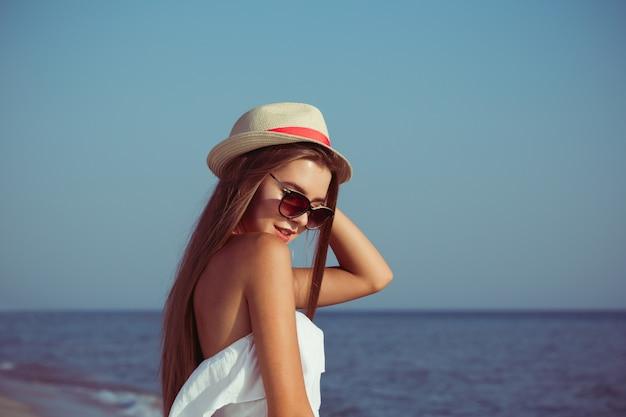 Sommerferienfrau