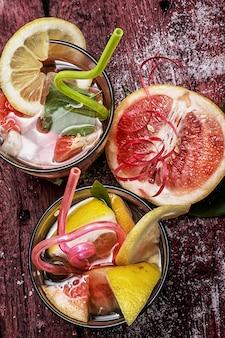 Sommerfruchtgetränk