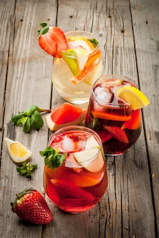 Sommergetränk sangria