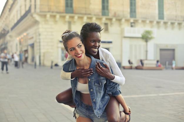 Sommerreise mit einem freund