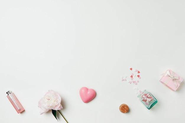 Sommerthema, schöne rosa girly elemente