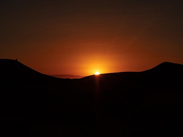 Sonne in der sahara
