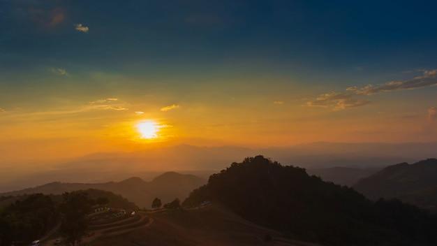 Sonnenaufgang bei doi samer dao