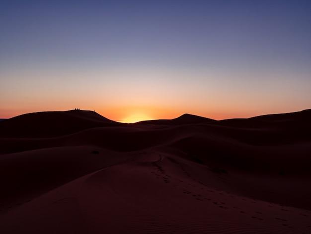 Sonnenaufgang sahara