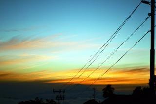Sonnenaufgang wolken natur