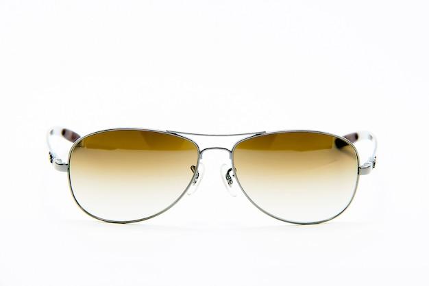 Sonnenbrille, getrenntes weiß