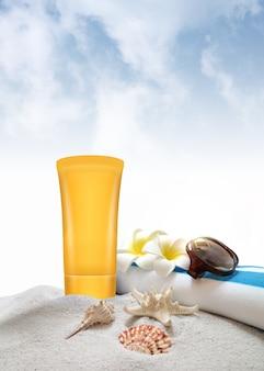 Sonnencreme für den sommerlichen sonnenschutz