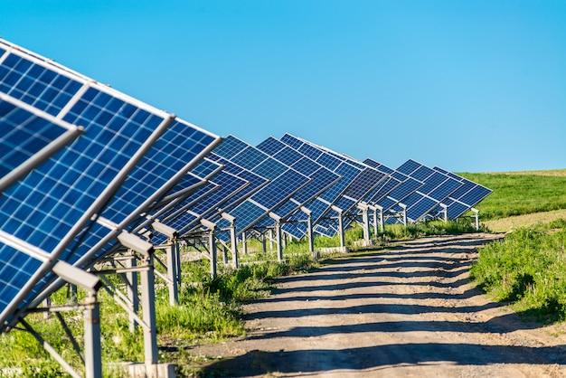 Sonnenkollektorenergie von der sonne
