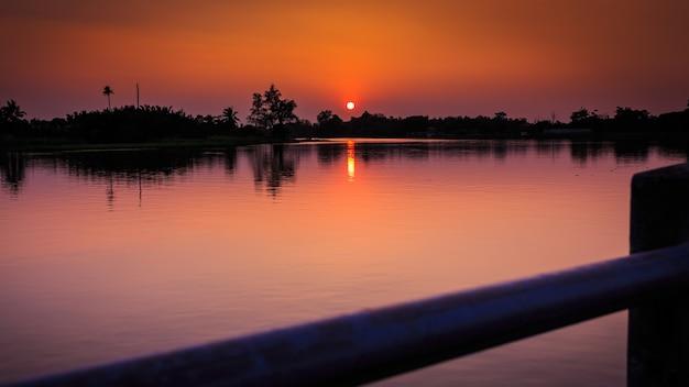 Sonnenuntergang chip lkw-effekte