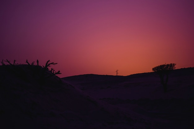 Sonnenuntergang farben