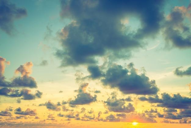 Sonnenuntergangszeit