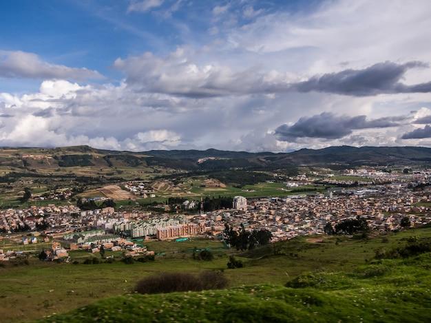 Sonnenuntergangwolken cartagenas kolumbien