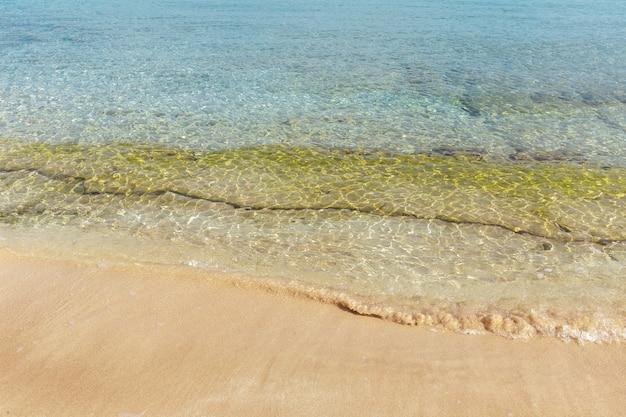 Sonniger sandstrand