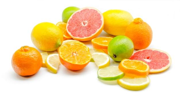 Sortiment von zitrusfrüchten