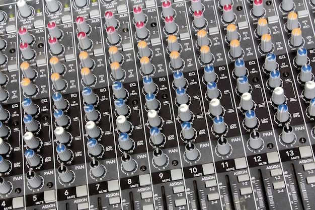 Sound-mixer-hintergrund.