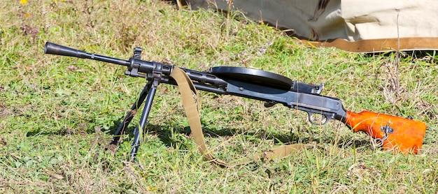 Sowjetisches maschinengewehr