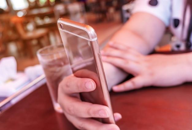 Soziales netzwerk und internet-anschlusskonzept