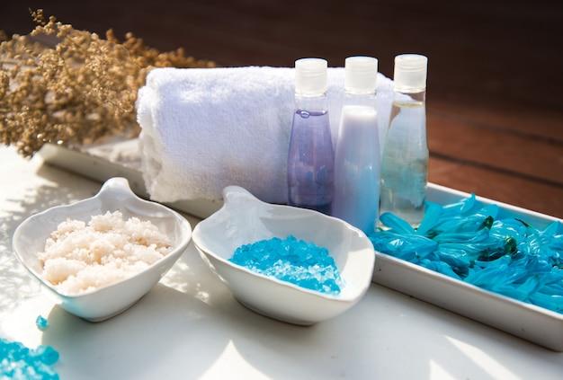 Spa-peeling-behandlung und massage, thailand
