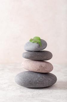 Spa steine massage entspannungsbehandlung