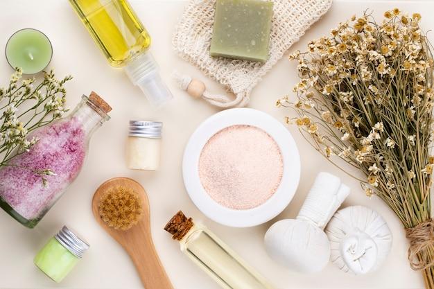 Spa und haut carehomemade kosmetik