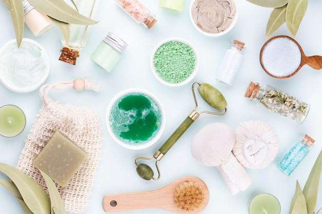 Spa und hautpflege hausgemachte kosmetik