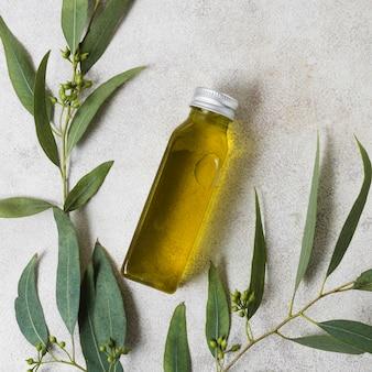 Spa- und schönheitsbehandlung olivenöl
