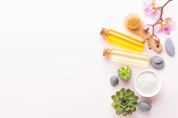 Spa wellnes grußkarte aromatherapie t
