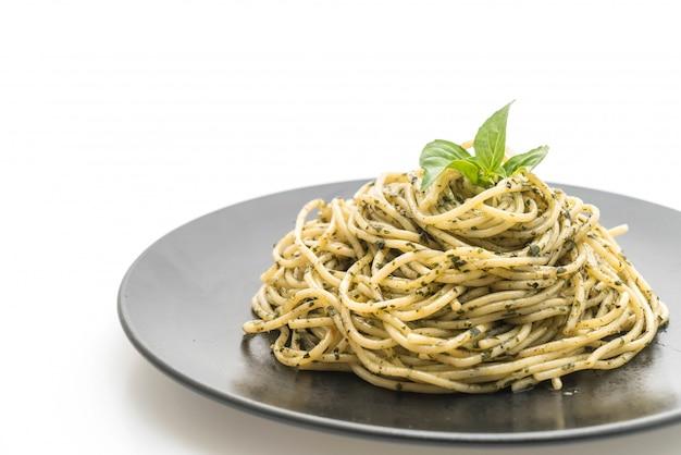 Spaghetti frischkäse mit speck
