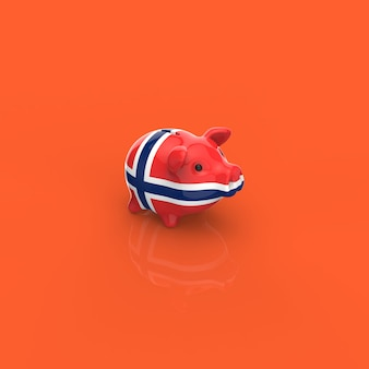 Sparschwein - 3d-illustration