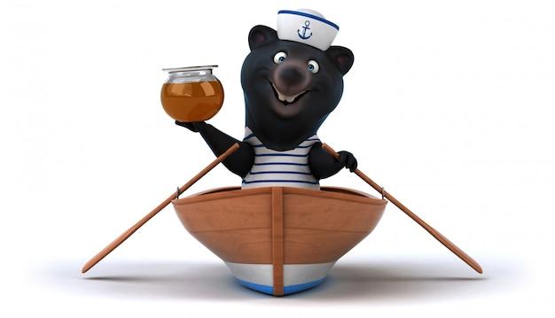 Spaß bärenanimation